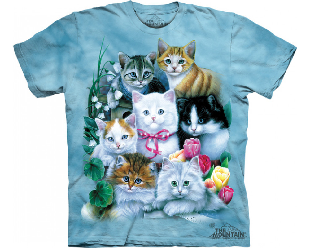 tee shirt animaux t shirt chats chatons kittens. Black Bedroom Furniture Sets. Home Design Ideas