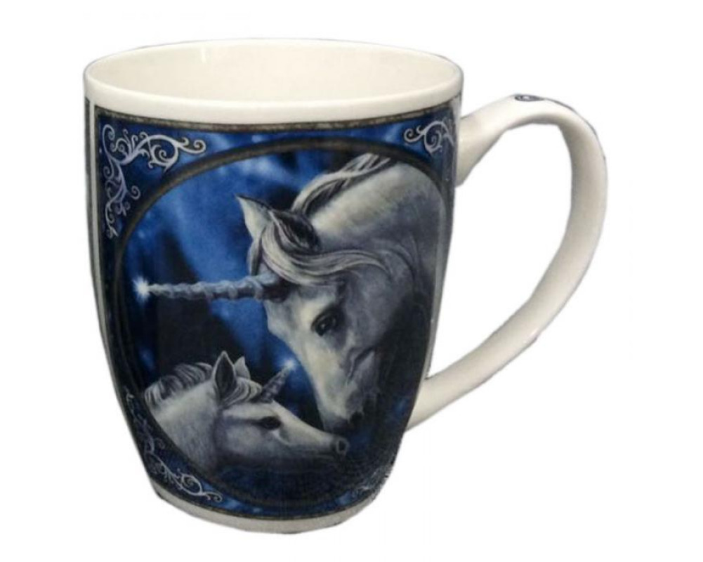 licorne et son poulain mug fantasy tasse lisa parker. Black Bedroom Furniture Sets. Home Design Ideas