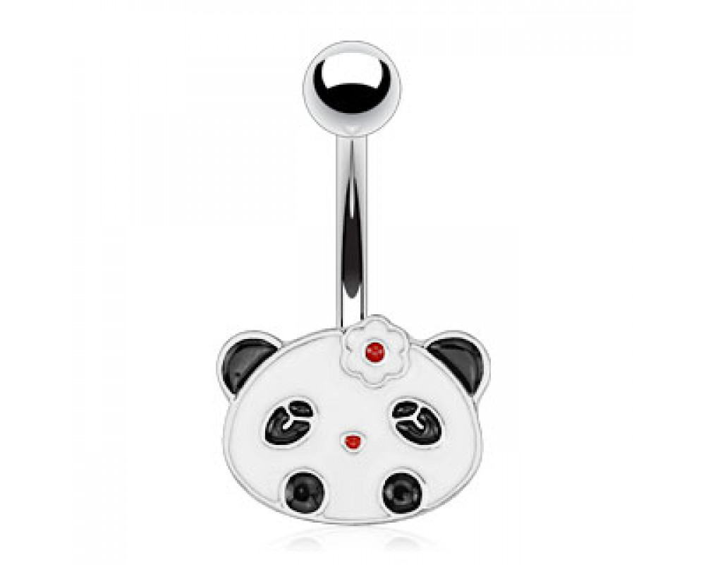 boutique piercings piercing nombril bijou panda. Black Bedroom Furniture Sets. Home Design Ideas