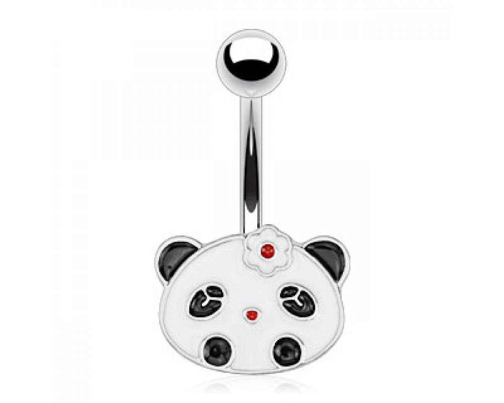 boutique piercings piercing nombril bijou panda. Black Bedroom Furniture Sets. Home Design Ideas