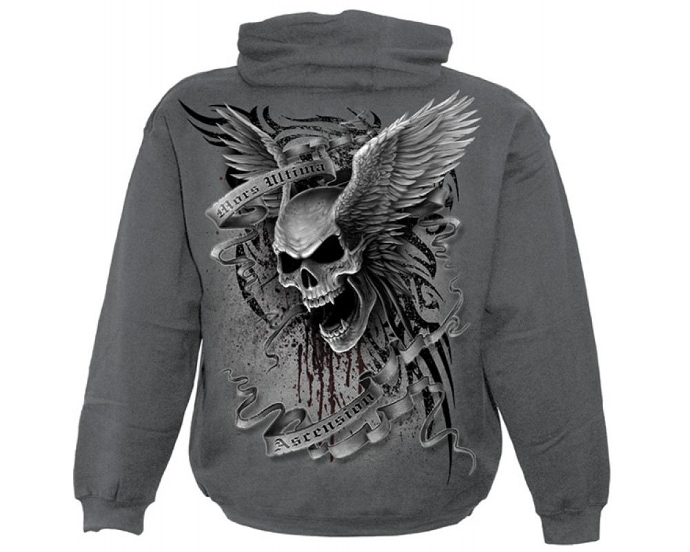 ascension sweat shirt t te de mort spiral. Black Bedroom Furniture Sets. Home Design Ideas
