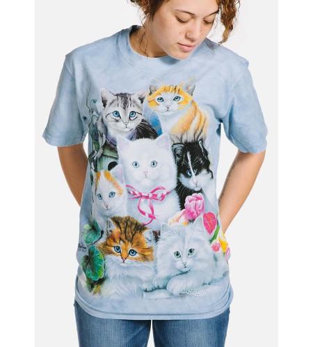 boutique vente tee shirt motif manches courtes adulte the mountain