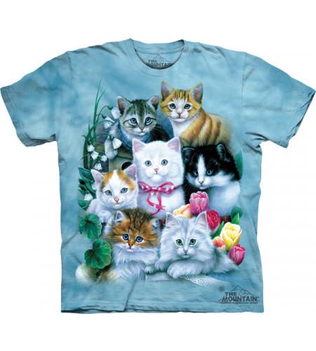t-shirt imprimé chats