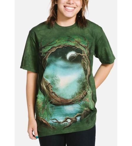 tee shirt fantasy féerique the mountain manches courtes