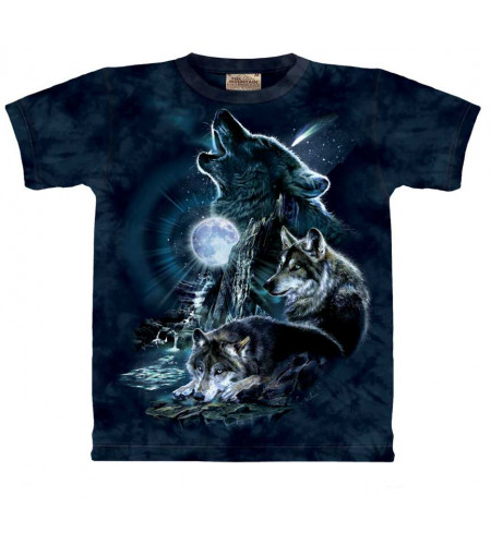 Bark at the moon T-shirt loups - The Mountain