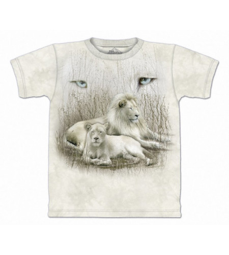 White lion - T-shirt - The Mountain