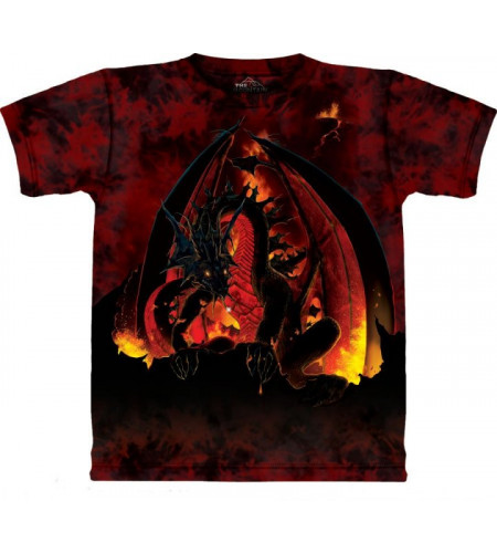 tshirt de dragon fireball