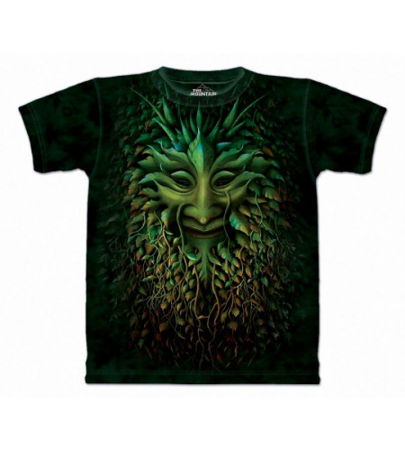 Green man - T-shirt créature arbre fantasy - The Mountain