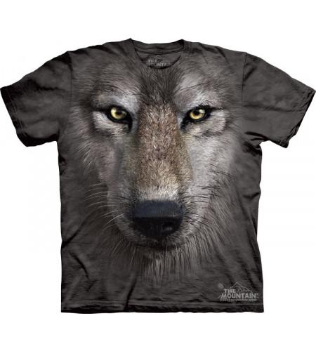tee shirt tête de loup