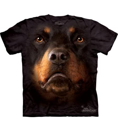 tee shirt cjien rottweiler