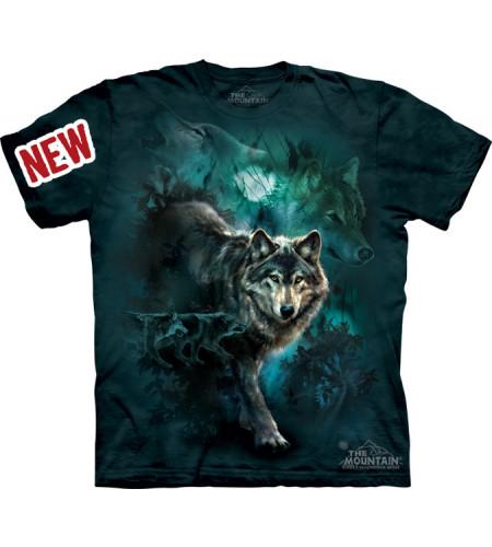tee shirt de loups