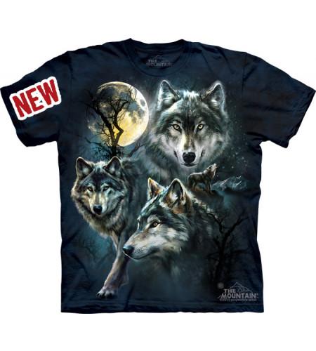 tee shirt animaux loups