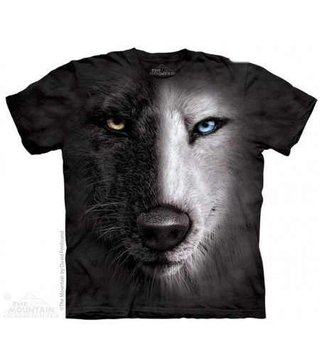 boutique vente de tee shirts animaux the mountain loup