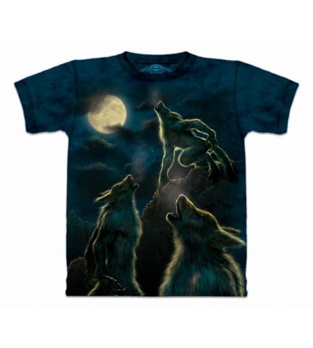 3 Werewolf Moon Tee shirt 3 loups garous