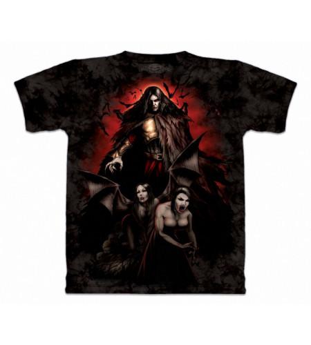 Vlad - T-shirt vampires  gothique - Skulbone
