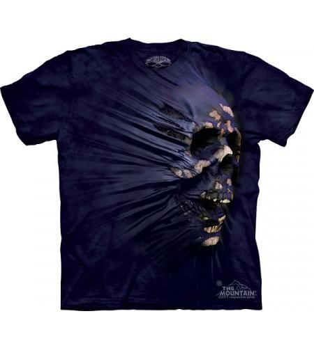 t-shirt tete de mort crane squelette