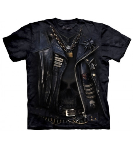Funnelweb - T-shirt rock biker - The Mountain