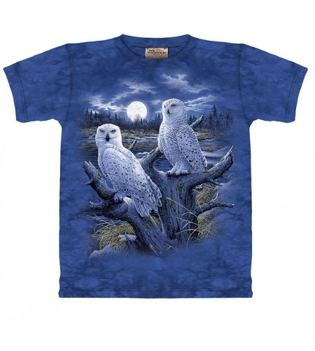 Snow Owls T-shirt chouettes - The Mountain