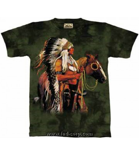 Indien Guerrier T-shirt - The Mountain