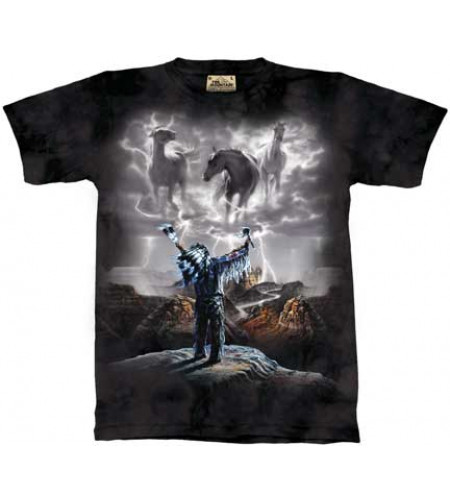 Summoning the storm T-shirt indien - The Mountain