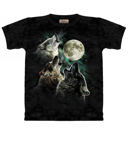 3 wolf moon T-shirt de loups - The Mountain