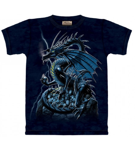 Skull dragon T-shirt - The Mountain