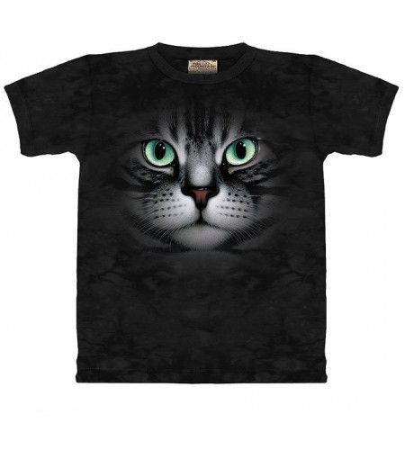 Yeux emeraude T-shirt chat  - The Mountain