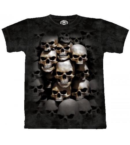 Skullcrypt T-shirt cranes  gothique - Skulbone