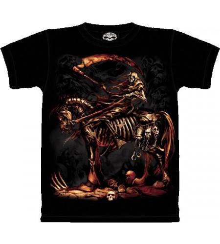 Scythe T-shirt gothique - Skulbone