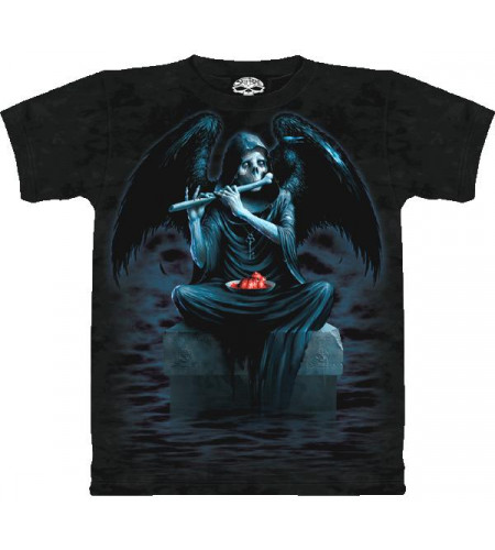 Angel of Death T-shirt gothique - Skulbone