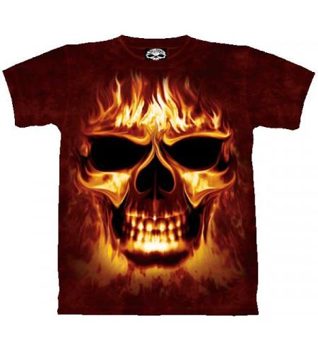Skulfire T-shirt tête de mort - Skulbone
