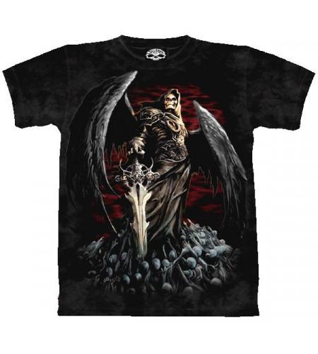Death Wish - T-shirt Reaper squelette - Skulbone