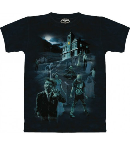 Zombies and ghosts T-shirt - Skulbone