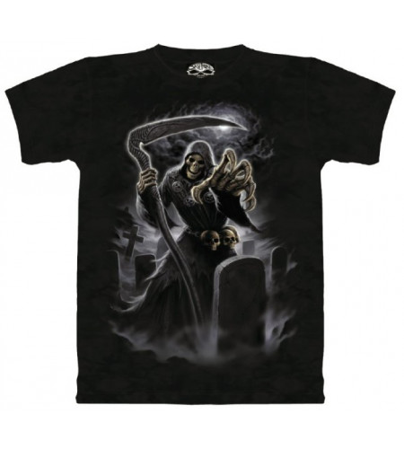 Dark angel T-shirt  gothique - Skulbone