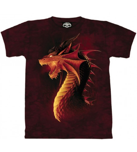 Dragon rouge T-shirt - Skulbone