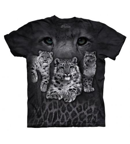 Snow leopards T-shirt félins - The Mountain