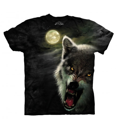 Night breed T-shirt loup - The Mountain