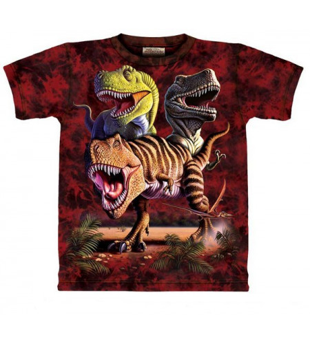 Rex collage T-shirt enfant - The Mountain