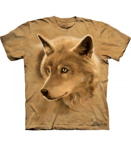 tshirt loup pour enfant