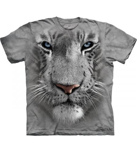 tshirt tigre blanc