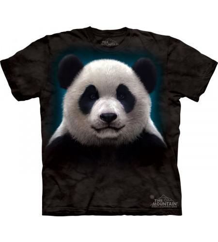 tshirt tête de panda