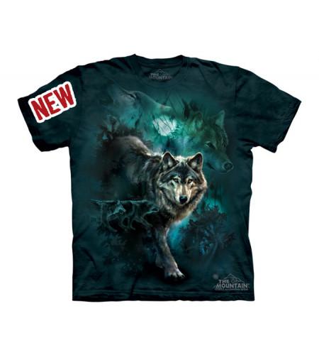 t-shirt enfant loup