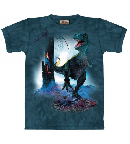Rex - T-shirt enfant dinosaure - The Mountain