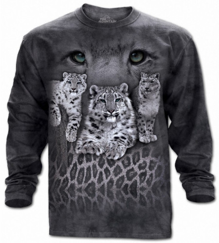 Snow leopards - T-shirt manches longues - The Mountain