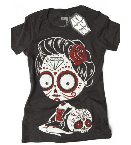 La Cavelera - T-shirt femme gothique - Akumu Ink