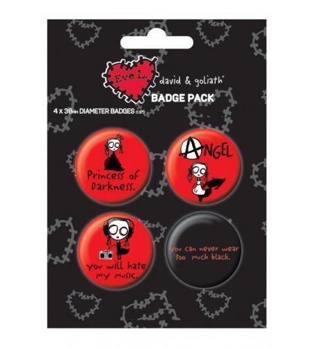 DG Eve L Badges