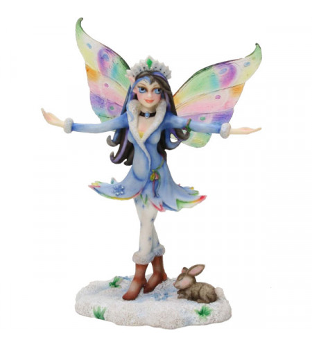 Snow queen - Figurine fée