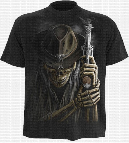 Smoking gun T-shirt
