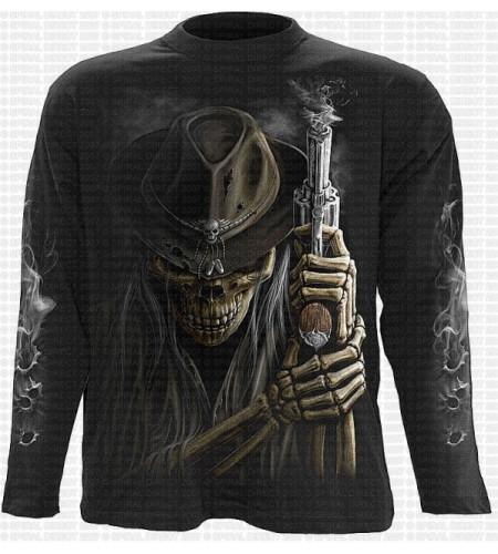 Smoking gun T-shirt manches longues