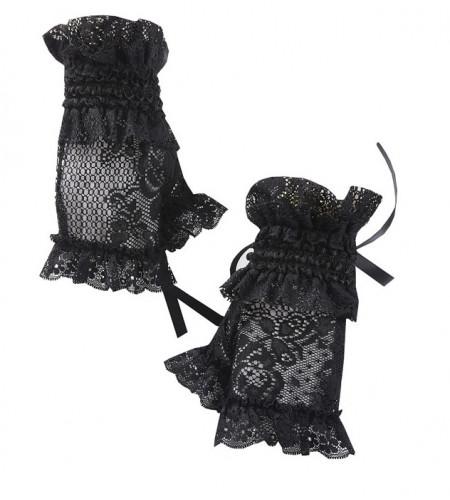 Gants en dentelle lolita noire - Dark In Love